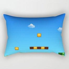 arena game mario Rectangular Pillow