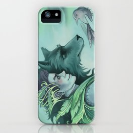 The Forest Prince iPhone Case