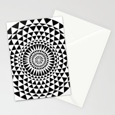 Sun in B&W Stationery Cards