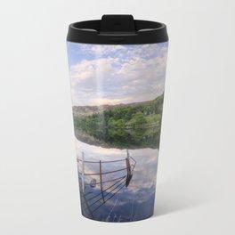 Peace At The Lake Travel Mug