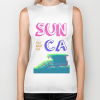 santa monica Biker Tanks featuring SUNta moniCA by ARTITECTURE