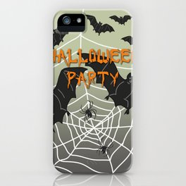 Bats- Halloween Party iPhone Case