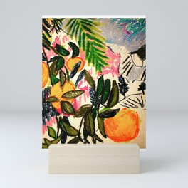 Oranges Mini Art Print