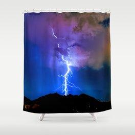 Monsoon Trippin Shower Curtain