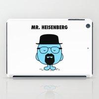 heisenberg iPad Cases featuring Heisenberg by Krikoui