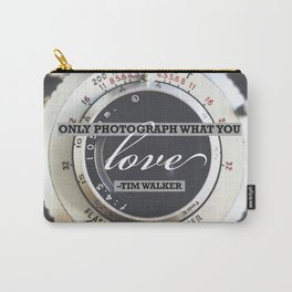 Inspirational Photography Quote Carry-All Pouch