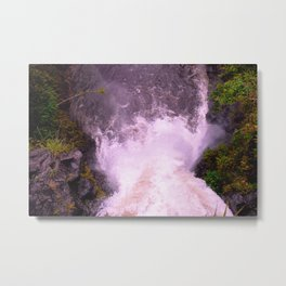Waterfalls: A new perspective Metal Print