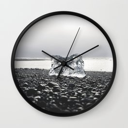 Ice Block Wall Clock