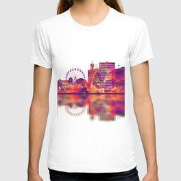 Geneva Switzerland Skyline T-shirt