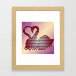 It's True Love Framed Art Print
