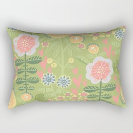 Spring Garden Baby Rectangular Pillow