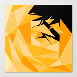 Fracture (Gold) Canvas Print