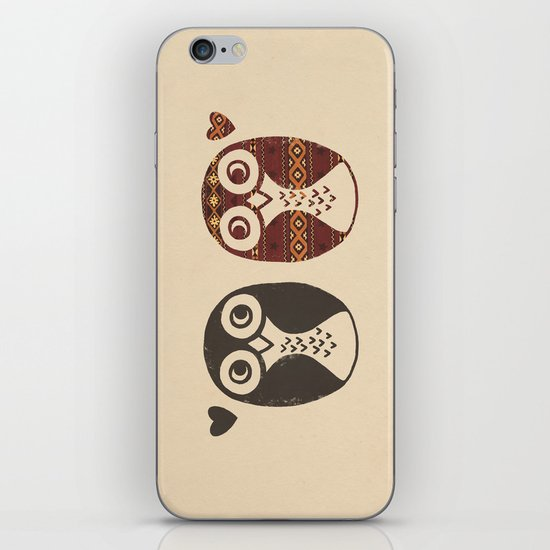 Opposites Attract iPhone & iPod Skin