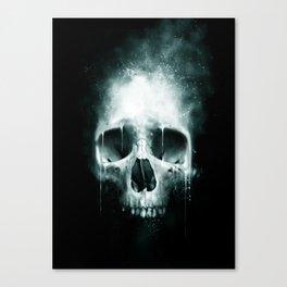 Skull Spatter Canvas Print