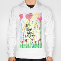 love quotes Hoodies featuring Love Quotes by Just Creative Julia