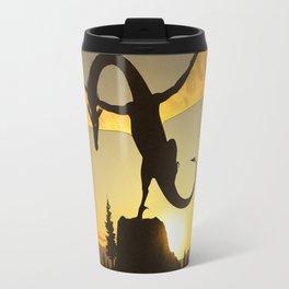 Dragon Sunset Travel Mug