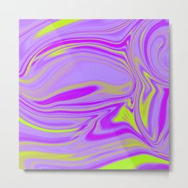 Abstract Fluid 6 Metal Print