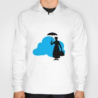 mary poppins Hoodies featuring mary poppins by notbook
