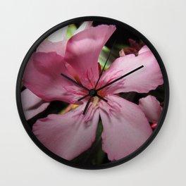 A Pink Night Wall Clock