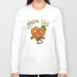 Gluten Tag Long Sleeve T-shirt