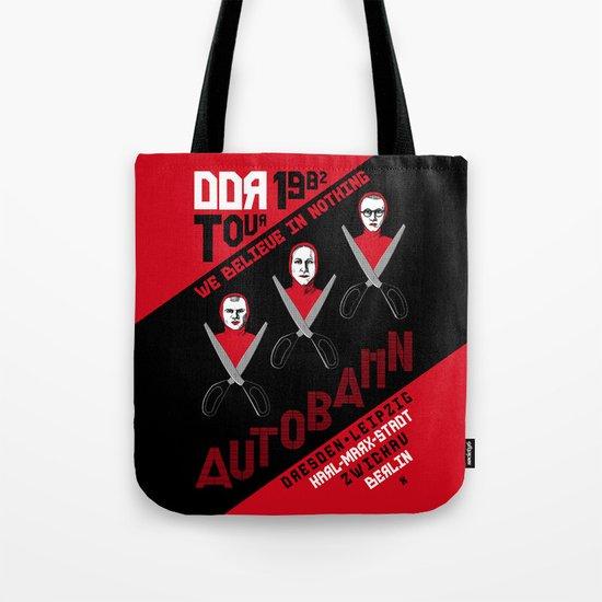 Autobahn--East German Tour 1982 Tote Bag