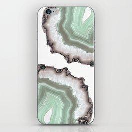 Light Water Agate iPhone Skin