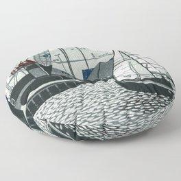 Poole Quay Floor Pillow