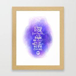 Art Against Bullying 2 Framed Art Print
