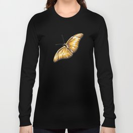 Papillon jaune Long Sleeve T-shirt