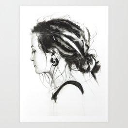 dreadgirl Art Print