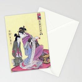Geisha in Training Stationery Cards