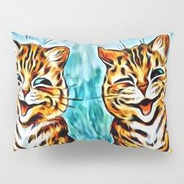 "Louis Wain's Cats ""Winking Cats"" Pillow Sham"