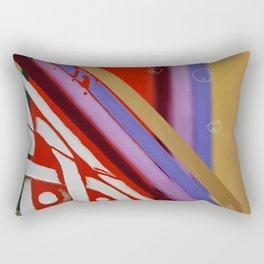 Celtic Knot with Autumn Colors Rectangular Pillow