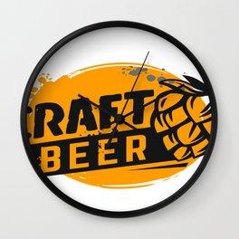 Craft Beer Wall Clock