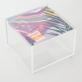 Summer Pastels Acrylic Box