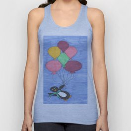 When Penguins Fly Unisex Tank Top