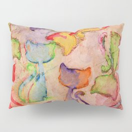 Cat Festival Pillow Sham