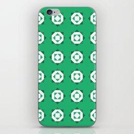 Maroccan Green Stars iPhone Skin