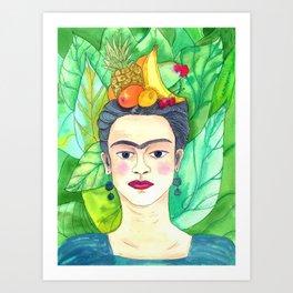 Chiquita Frida Art Print
