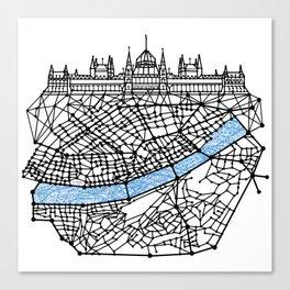 the Budapest Canvas Print