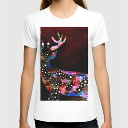 Cosmic deer T-shirt