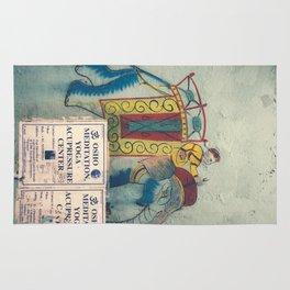 the elephant Rug