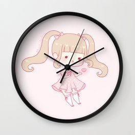magical heart Wall Clock