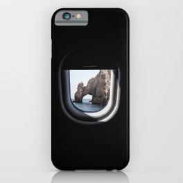 The Arch of Los Cabos from my seat iPhone Case