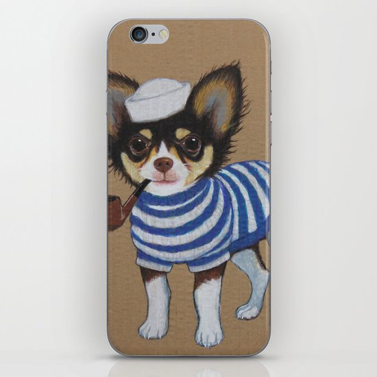 Chihuahua - Sailor Chihuahua iPhone & iPod Skin