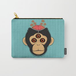 3rd Eye Chimp & Psychedelic Mushrooms Carry-All Pouch