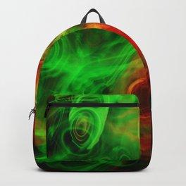 Fantasy smoke swirls Backpack