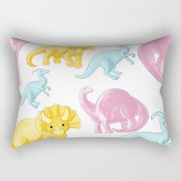 Dinosaur Pattern Rectangular Pillow