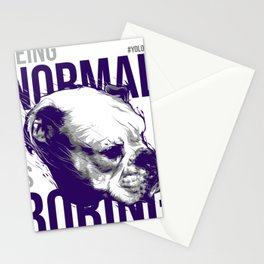 Dog Normal is Boring Stationery Cards