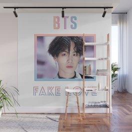 BTS Fake Love Design - Suga Wall Mural